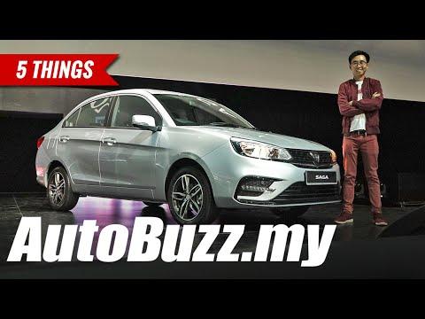 2019 Proton Saga Facelift, 5 Things - AutoBuzz.my