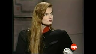 Paulina porizkova 1986 late night with david letterman interview