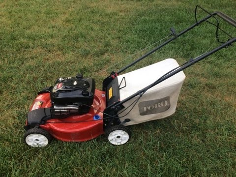 toro recycler lawn mower model 20330 final look start part iii rh youtube com Toro Super Recycler Manual Toro Recycler Repair Manual