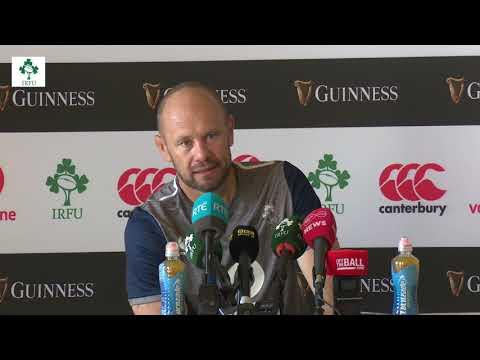 Irish Rugby TV: Greg Feek On Ireland v Italy