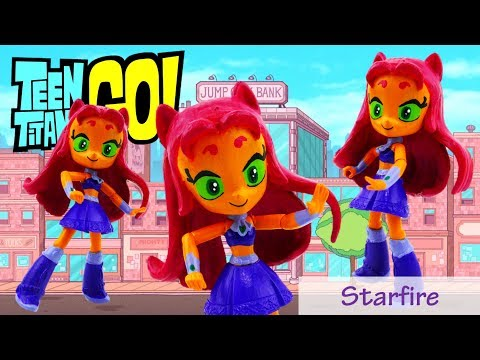 Teen Titans Go! Starfire Doll My Little Pony Equestria Girls Minis Custom Tutorial