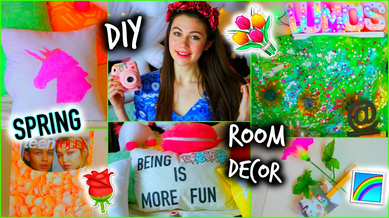 Diy Spring Decor For Your Room