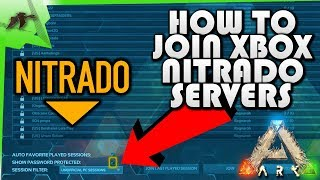 How To Join Nitrado Xbox One Rentable Servers (patch v765.3)- Ark Survival Evolved- Kamz25