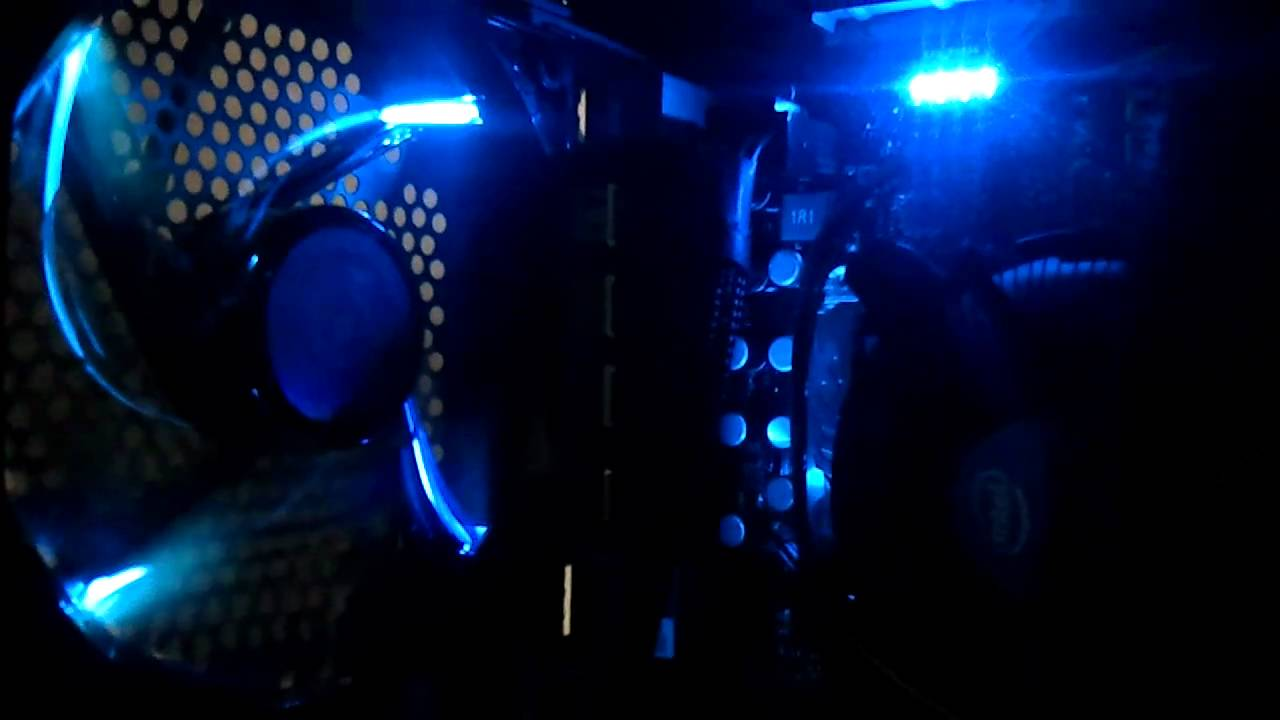 Cooler Master Sickleflow 120mm Blue Led Case Fan R4 C2r