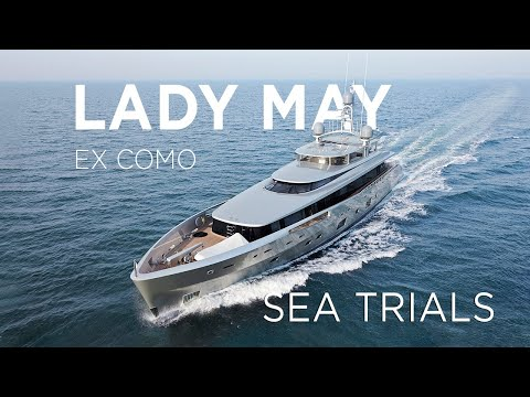 46m / 150ft Feadship Como on Her Sea Trials   Feadship