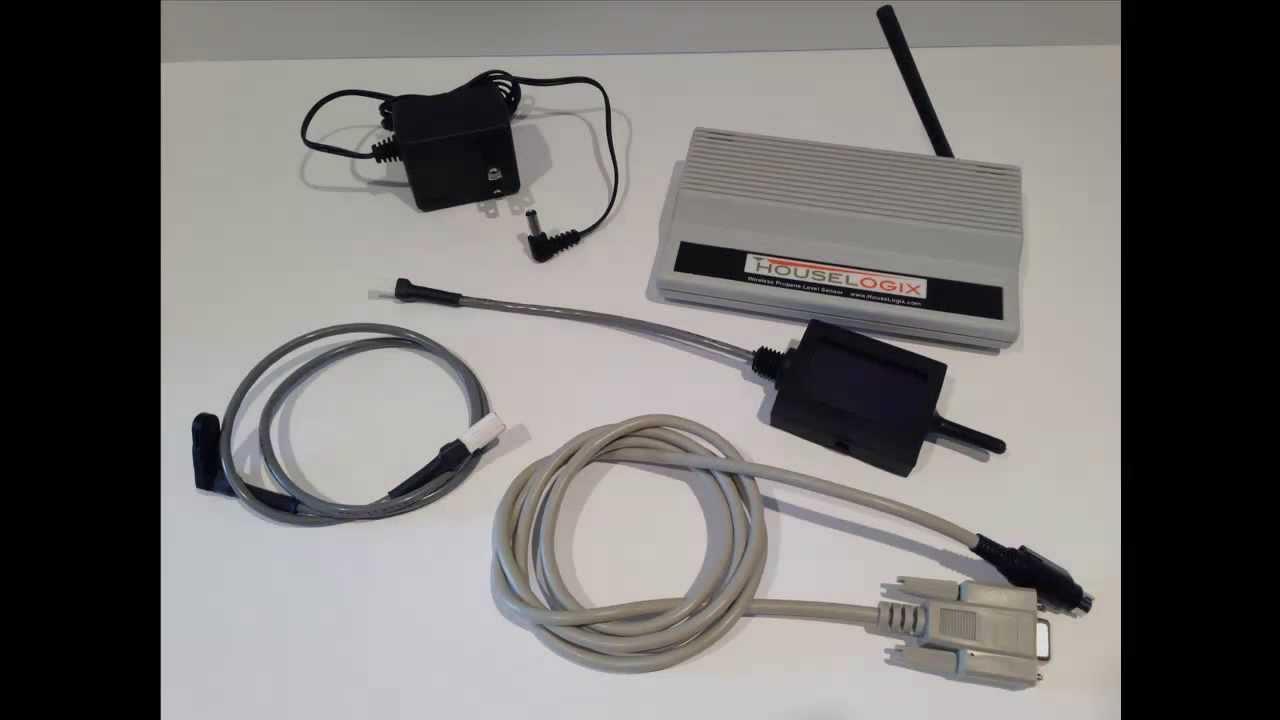 Wireless Propane Tank Level Sensor By Houselogix Youtube