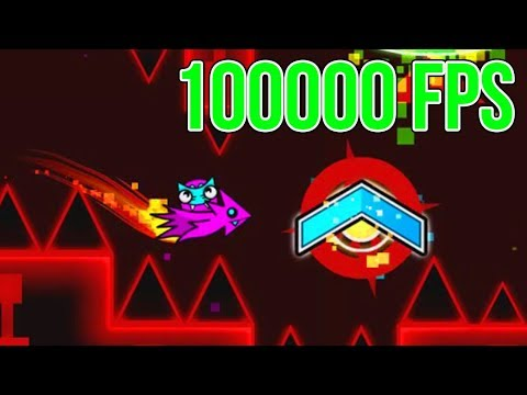 Playing at 100000 FPS!! Geometry Dash (FPS Bypass)