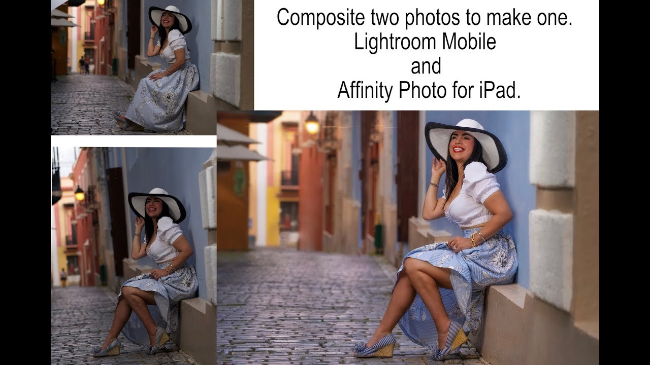 Compositing Affinity Photo Lightroom Mobile iPad Pro