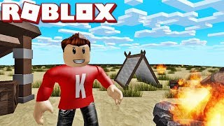 NOUS ALLONS CAMPER! Anglais Roblox: Backpacking