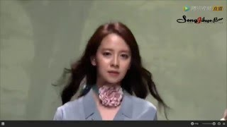 160430 Very Korean KatiaCho fashion show Song Ji Hyo CUT