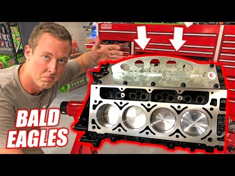 Assembling the Auction Corvette's NEW Bald Eagle Engine! + Building a 10ft Snorkel For the Bogger!