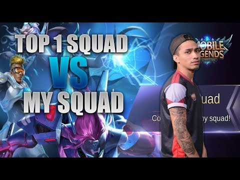 TOP 1 SQUAD VS MY SQUAD - MOBILE LEGENDS - 2000 DIAMONDS GIVEAWAY - GAMEPLAY - RANK - ANGELA