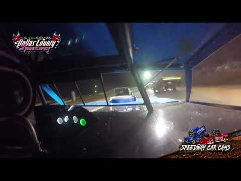 #90 Terry Schultz - Usmts Modified - 8-15-19 Dallas County Speedway - In Car Camera