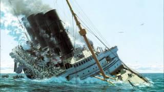 titanic,lusitania and britannic sinking