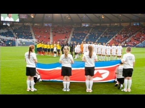 Un error de banderas enfada a las norcoreanas