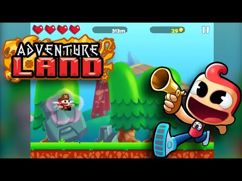 Adventure Land - Action Runner Game for iPhone and Android