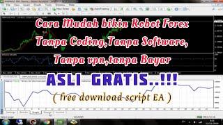 Download lagu WAJIB TAHU !! Cara Mudah membuat Robot Forex Sendiri Tanpa Coding,Tanpa Sofware,Tanpa vpn GRATISS