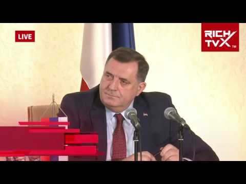 Attack on Pravda Za Davida & BN TV: Dictator Milorad Dodik`s Final Speech
