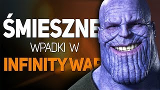 Avengers Infinity War - Śmieszne wpadki i sceny zakulisowe!