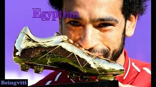 MOHAMED SALAH | Golden Boot Award |Beautiful Wife & Daughter were Present