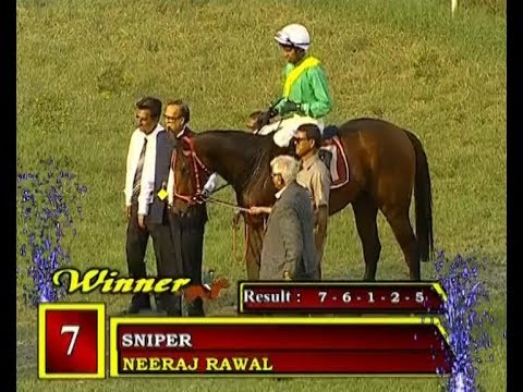 Sniper with Neeraj Rawal up wins The Cavalry Cup 2018