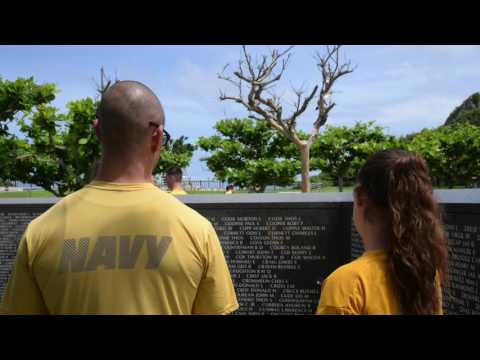 CFAO/ESG 7 Battle of Okinawa Memorial