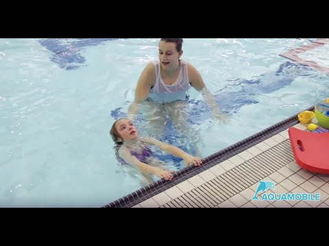 Swimming Lessons For Kids: Back Gliding, Kicking And Back Stroke Arms