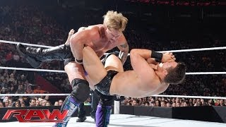 Chris Jericho vs. The Miz: Raw, July 7, 2014