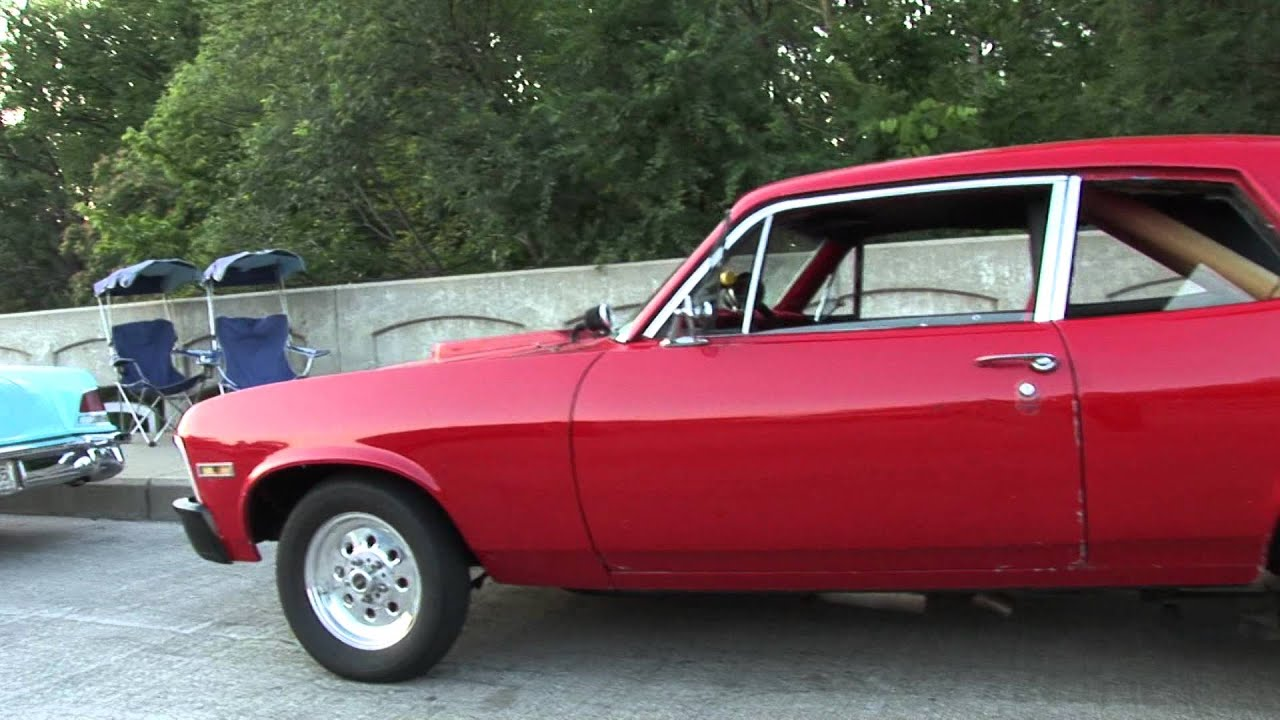 Melvin S 1974 Nova With Bigblock Roll Cage And Ready To