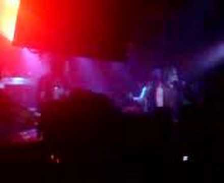Phil sings on stage at Bullet For My Valentine gig Belfast