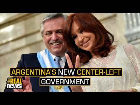 Argentines Celebrate Inauguration of New Center-Left Government