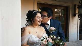 Ana & Carlos | A Jehovah's Witness Wedding Film Teaser at Celebrations by Turnip Rose in Costa Mesa