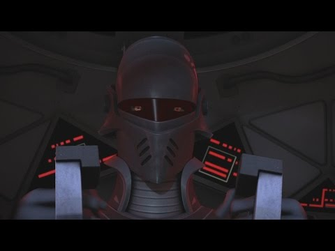 Star Wars Rebels - TIE fighters vs. Ghost (The Inquisitor vs. Hera Syndulla) [1080p]