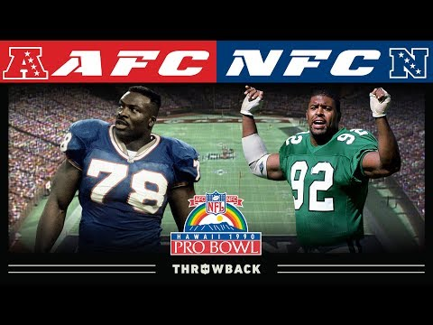 [NFL Throwback] A Star-Studded Defensive Matchup! (1990 Pro Bowl)