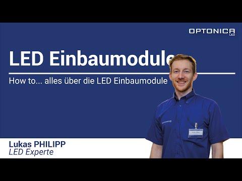 How to... LED Einbaumodule von Optonica LED