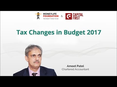 Tax Changes In Budget 2017