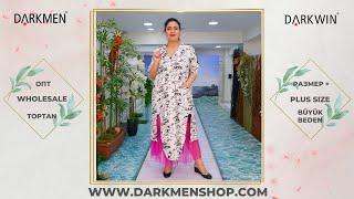 Женская одежда больших размеров DARKWIN от DARKMEN Турция Стамбул Опт