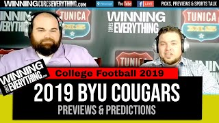 WCE: BYU Cougars 2019 College Football Preview & Predictions