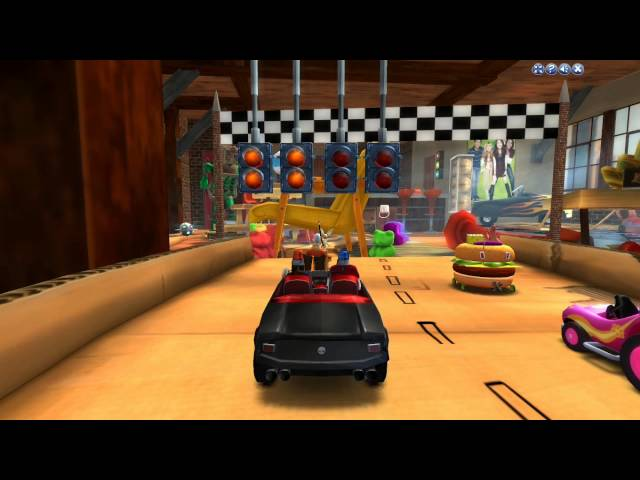 Nick racers revolution gameplay