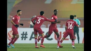 قطر تقصي فلسطين وتبلغ نصف نهائي كأس آسيا