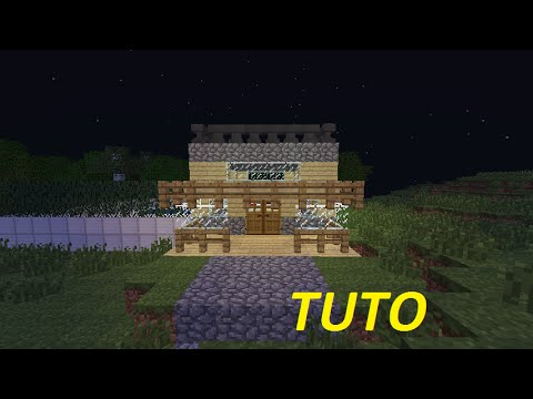 Minecraft tuto belle maison avec piscine youtube - Tuto belle maison minecraft ...