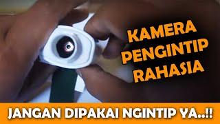 Bikin Kamera Pengintai Mini Sederhana Jarak Jauh Tanpa Kabel