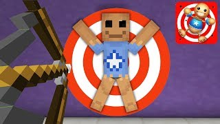 Monster School KICK THE BUDDY CHALLENGE Minecraft Animation