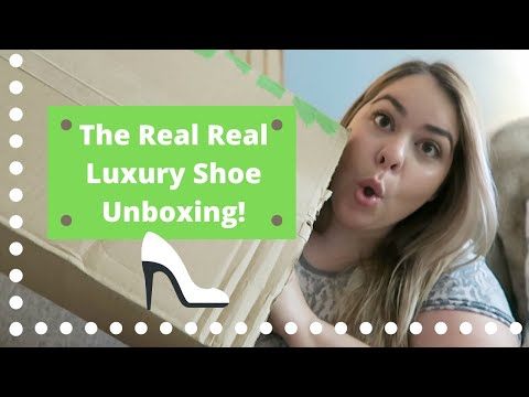 Luxury Shoe Unboxing ~ The Real Real