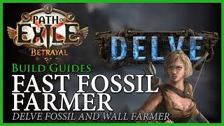 Path of Exile [3.5 - Updated]: FAST FOSSIL FARMER - Delve Mine Farmer - Build Guide