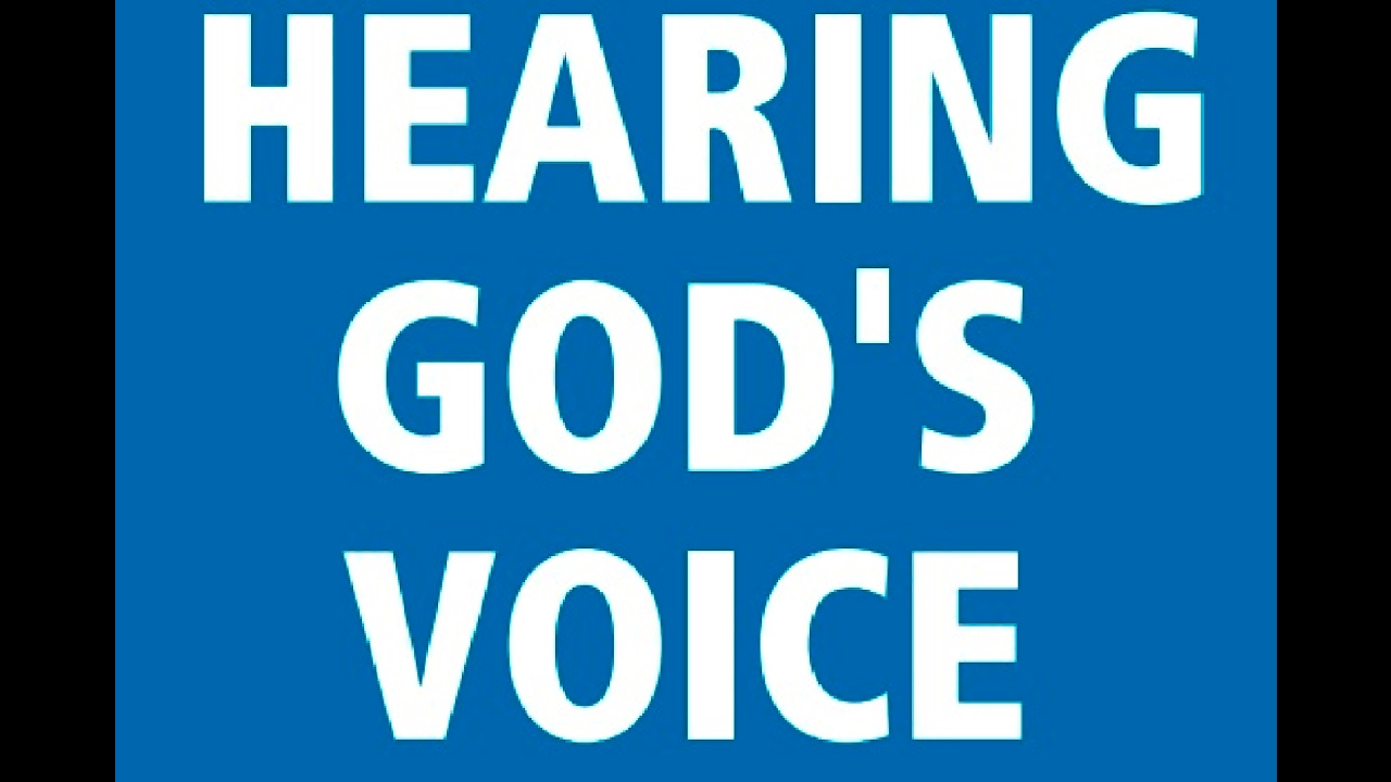 Afraid of Hearing God's Voice?