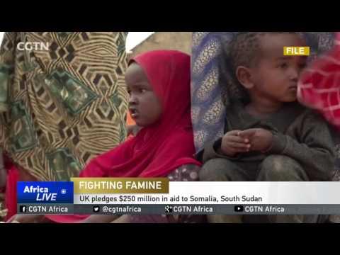 UK pledges $250 million in aid to Somalia, South Sudan