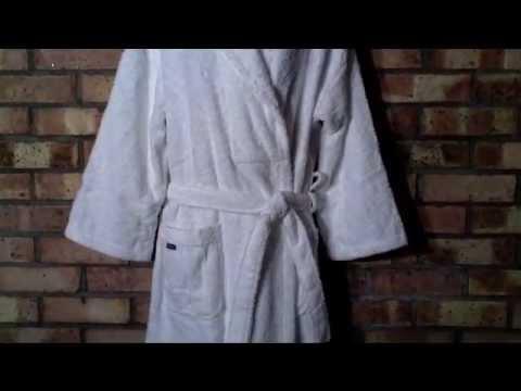 Christy Bath Robe Dressing Gown @ 360Boardwear - YouTube