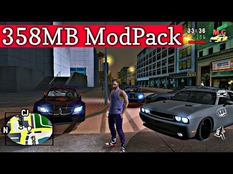 Premium Quality Modpack For Gta San Andreas Android