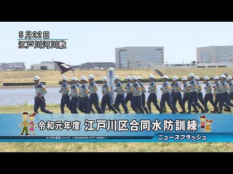 令和元年度 江戸川区合同水防訓練